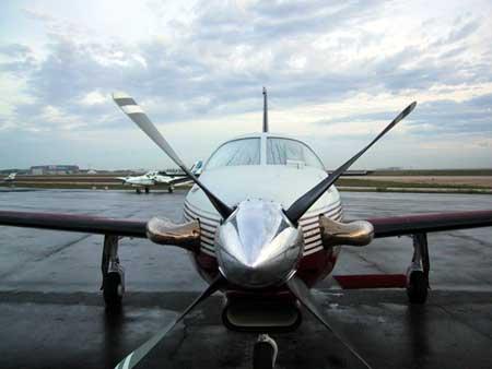 MMIG46 Malibu Mirage - Piper Malibu Jetprop from Kansas to